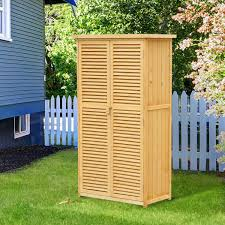 garden tool storage shed home outdoor decoration