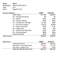 pay my toyota bill online new sr5 4x4 invoice and sales price details toyota 4runner