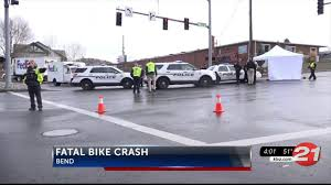 cyclist killed in crash at nw bend intersection ktvz