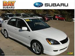 mitsubishi ralliart 2006 wicked white mitsubishi lancer ralliart 56156371 gtcarlot