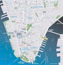 Map Of Manhattan New York City by Lower Manhattan Map Printable Montana Map