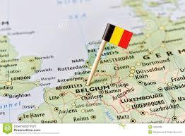 belguim map belgium map and cities stock vector image of oostende 15975383