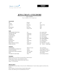 Resume Acting Template by Downloadable Acting Agency Resume Template Acting Cv 101 Beginner