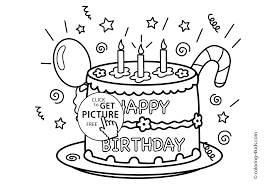 happy birthday party coloring pages u2013 celebration coloring pages