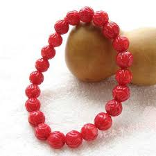 red beads bracelet images 2018 special genuine natural red coral bracelet carved lotus beads jpg