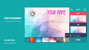 business card maker creator how to use
