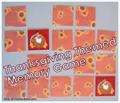 preschool co op thanksgving activities