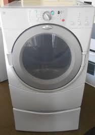 Manual Clothes Dryer Appliance City Whirlpool Duet Electric Dryer With Pedestal 5
