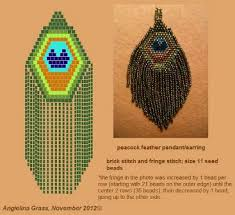 peacock feather earrings s fabulous faux peacock feather earrings tutorials the beading