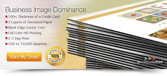 Full Color Business Card Printing Black Edge Business Cards 32pt Business Card Printing Ultra