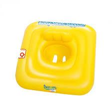 siege pour bébé bouée siège pour bébé swim safe jaune decoandgo