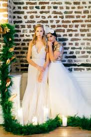 organic blush and green wedding ideas every last detail