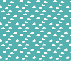 Clouds  Small Cloud Print For Baby Nursery And Home Decor - Home decor textiles