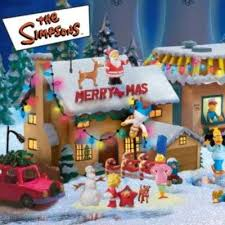 simpsons decorations lights card and decore