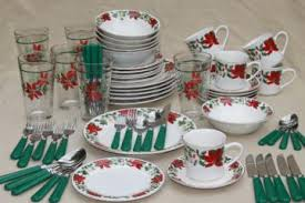 christmas dishes vintage christmas dishes and tableware