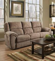 Chenille Reclining Sofa by Red Barrel Studio Simmons Genevieve Double Motion Reclining Sofa