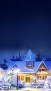 christmas eve town iphone 5 wallpaper hd free download iphonewalls