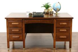 Desk With Pull Out Table Sold Oak 1915 Antique Desk File Drawer Pull Out Shelves Brass