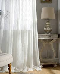 Curtains Chevron Pattern White Chevron Sheer Curtains Custom Made To Order Upto 104