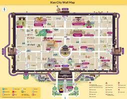 Centre Bell Floor Plan Maps Of Xian China Attractions City Layout Subway