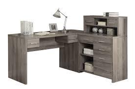 desks u0026 hutches l shaped or corner desk sears