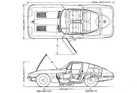 nissan skyline drawing outline 1963 chevrolet corvette sting ray c2 360bhp fuel injection version