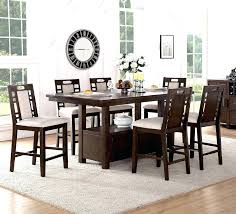 counter height dining table with swivel chairs counter height dining set with swivel chairs high top dining tables