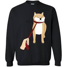 Doge Meme T Shirt - cute shiba inu shirt nope doge meme t shirt w t shirt sweatshirts