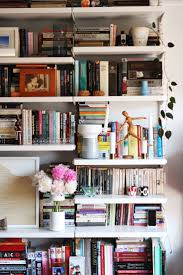 how real people do bookshelf styling real people people and books
