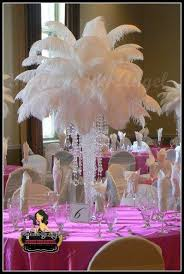 feather centerpieces feather centerpieces weddingbee