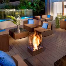 Dark Brown Wicker Patio Furniture by Exterior Awesome Picture Of Outdoor Patio Design And Decoration