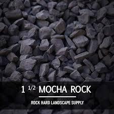 Grey Landscape Rock by Rockhard Landscape Supply Mulch