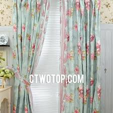 Retro Floral Curtains Vintage Curtains For Bedroom Vintage Printed Beautiful