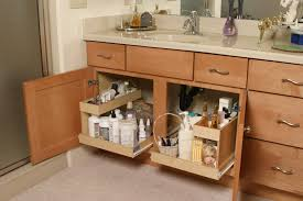 modest bathroom cabinet pull out shelves with kitchen photography