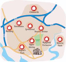 Southampton England Map by Southampton Edition Discover Magazine