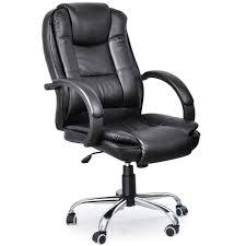 Luxury Swivel Chair by Tinkertonk Black Luxury Swivel Pu Leather Executive Office