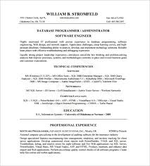 Software Engineer Resume Templates Software Developer Resume Samples Visualcv Resume Samples Database