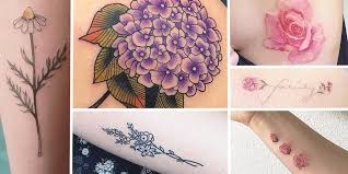 17 adorable floral tattoos you u0027re going to be obsessed with