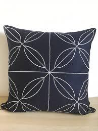 navy blue decorative pillows astounding bathroom accessories