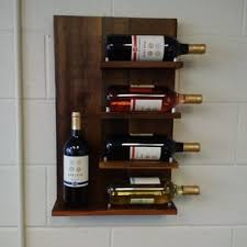 buy a custom reclaimed wood wine rack made to order from sweet