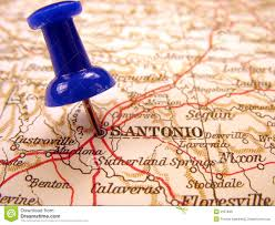 San Antonio Texas Map San Antonio Texas Stock Photo Image Of Texas Maps Geography