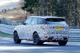 land rover vogue 2018 2018 range rover sport svr shows production lights exhaust tips