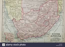 africa map by year a 100 year map of south africa showing boundaries stock