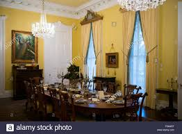 nottoway plantation 19th century antebellum mansion dining room