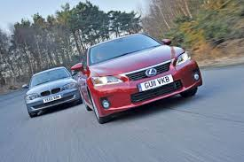 lexus ct200h vs mercedes a class lexus ct200h vs bmw 118d group test auto express