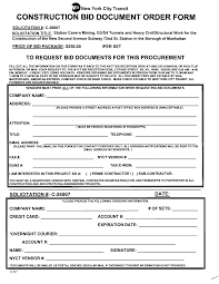 10 best images of free construction proposal forms free