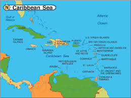 carribbean map caribbean map detailed travel map of caribbean islands