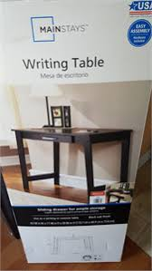 Mainstays Student Desk Instructions Solved Mainstay Writing Table Assembly Instructions Fixya