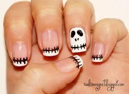 collection skeleton nail art pictures asatan collection skeleton