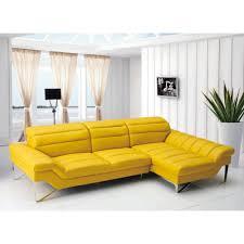 Modern Italian Leather Furniture Yellow Leather Sofa Modern Tehranmix Decoration